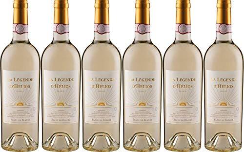 6x Légende Blanc de Blancs 2019 - La Légende d'Hélios - L´Union des Vignerons, Languedoc - Weißwein