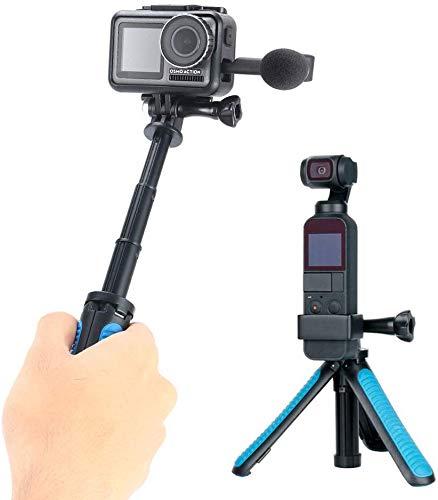 TELESIN Mini Telescopische Handheld Pole Selfie Stick Statief Handheld Monopod voor Gopro/Osmo Actie/SJCAM/AKASO/Andere Sport Camera's
