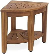 Best solid teak corner stool Reviews