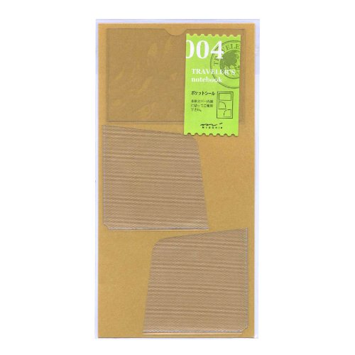 Midori Traveler's Notebook (refill 004) card/note holder