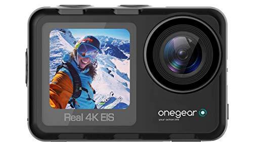 ONEGERPRO Thunder 4K 60 fps Action Travel Cámara con estabilizador Profesional EIS...