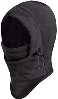 Seibertron New Polar Fleece Balaclava Warm Full Face Cover Winter Camping Ski Hiking Snow Mask Beanie Cs Hat for Valentine...