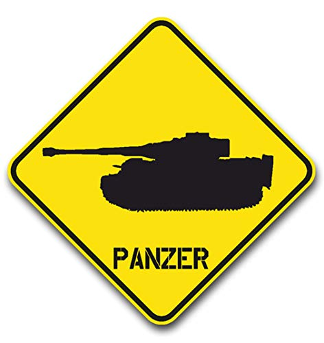 Aufkleber/Sticker Tiger Panzer Panzerdivision Sd.Kfz 181 15x15cm A615