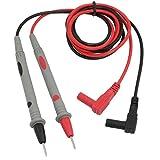 Multímetro digital 1000V 10A Prob de cable de plomo Probe Multímetro Digital Prueba de plomo Probe Multímetro Sonda Cable Lápiz Reemplazo 2pcs Adecuado para teléfono