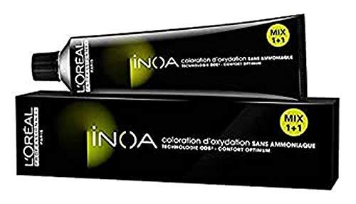 L'Oréal Inoa - Oxidative Coloration Ohne Ammoniak 7,1 Mittelblond Asch, 1er Pack (1 x 60 ml)