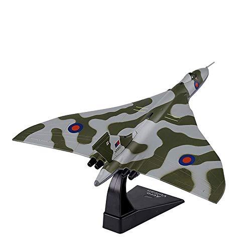 1yess Militares de Aeromodelismo, 1/144 Escala Modelo Vulcan, coleccionables y Juguetes for niños, 8.1Inch X X 8.3inch 2.2inch