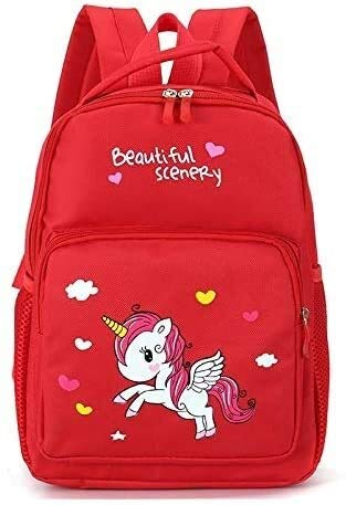 Social Liuzi Boy's Schoolbag Kindergarten Boys and Girls Schoolbag 1-3-6 Year-Old Children's Cartoon Printed Small Bag Anti-Lost Backpack Social Liuzi (Color : 4)