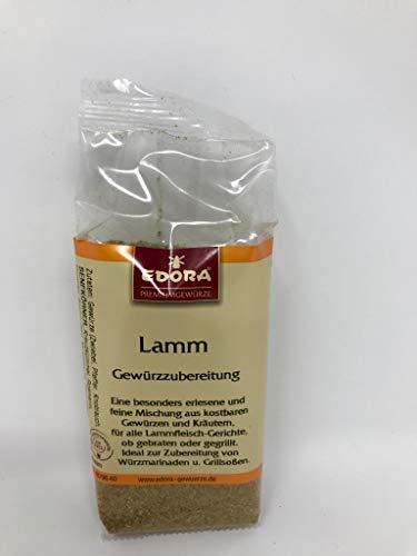 Premium Qualität Gewürz EDORA Beutel Tüte Lamm Gewürzzubereitung Braten Grill BBQ Schmorrgerichte 90 Gramm