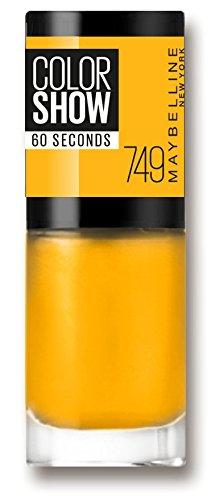 Maybelline Color Show 749 Electric Yellow - esmaltes de uñas