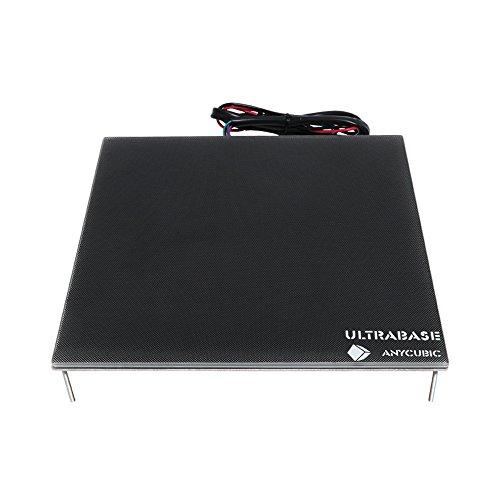 ANYCUBIC Ultrabase Plataforma Impresora 3D con Cama caliente y Placa de Vidrio con Revestimiento Microporoso para I3 Mega Mega S