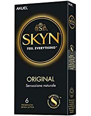 SKYN Original, preservativi ultramorbidi senza lattice, 6 pezzi