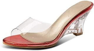 BalaMasa Womens AFL00466 Pu Slippers
