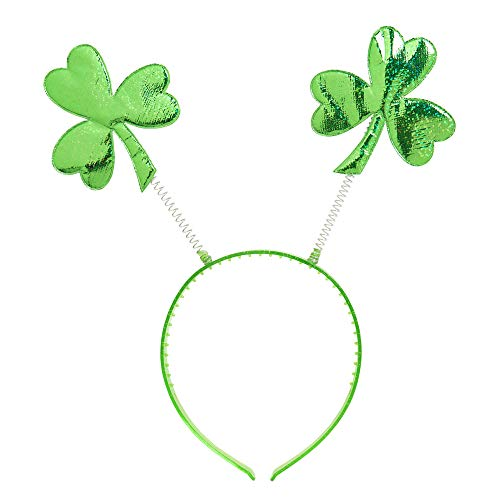 WIDMANN Video Delta del día de St. Patrick Head Boppers Sombrero Headware Accesorio para Irlandesa Irlanda St Patrick Fancy Dress Up Disfraces y Trajes