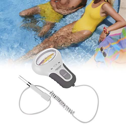 【𝐒𝐞𝐦𝐚𝐧𝐚 𝐒𝐚𝐧𝐭𝐚】 Medidor de Calidad del Agua, medidor de pH y Cloro Digital portátil 2 en 1 para la Calidad del Agua para la Piscina Análisis de la Calidad del Agua para acuarios Piscina Agua