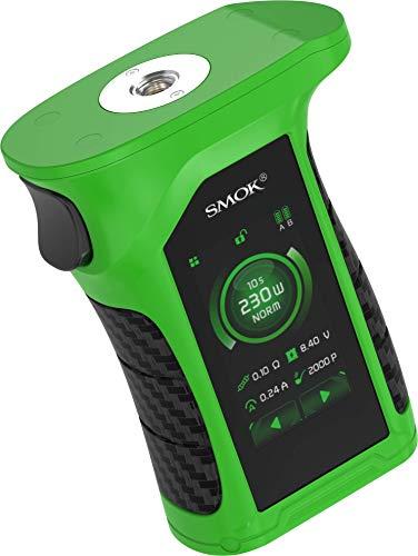 Mag P3 Akkuträger mit max. 230 Watt Ausgangsleistung - von Smok - Farbe: grün-schwarz