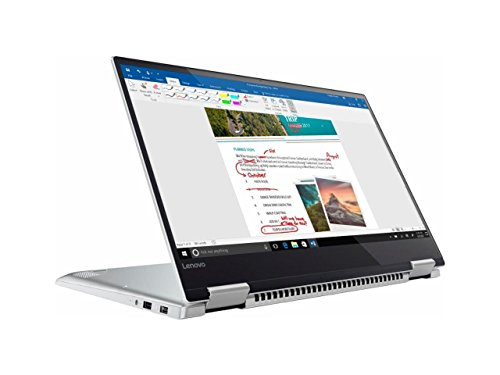 Lenovo Yoga 720 2-in-1 15.6' FHD IPS Touch-Screen Ultrabook, Quad Core Intel i7-7700HQ, 8GB DDR4 RAM, 256GB SSD, Thunderbolt, Fingerprint Reader, Backlit Keyboard, Built for Windows Ink-Win10
