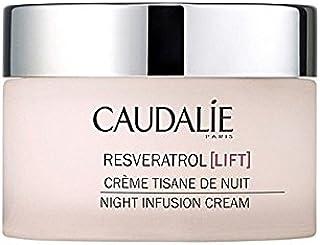 コーダリーレスベラトロールリフト夜の注入クリーム50 x4 - Caudalie Resveratrol Lift Night Infusion Cream 50Ml (Pack of 4) [並行輸入品]