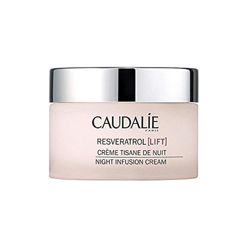 ブラウズ惨めな最後のCaudalie Resveratrol Lift Night Infusion Cream 50Ml (Pack of 6) - コーダリーレスベラトロールリフト夜の注入クリーム50 x6 [並行輸入品]