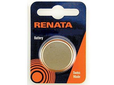Renata Batterie/Uhrenbatterie, Swiss Made, Größe 9,5 mm, 2,1 x Renata 371-(Ref. 053, 995)