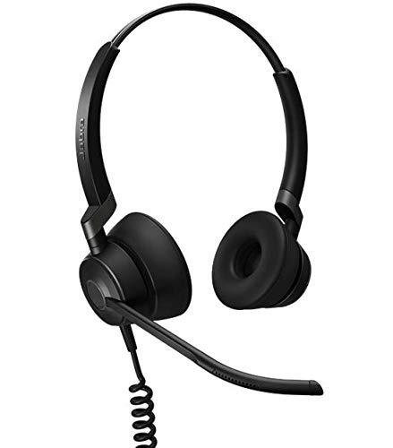 Jabra Engage 50 Duo digitales Call-Center-Kabel-Headset mit USB-C-Konnektivität  für Softphones (PCs)/Tablets/Smartphones