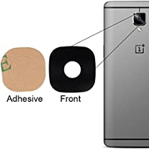 BisLinks for OnePlus 3T Rear Main Back Camera Glass Lens Cover + Adhesive Tape Part A3010 Replacement