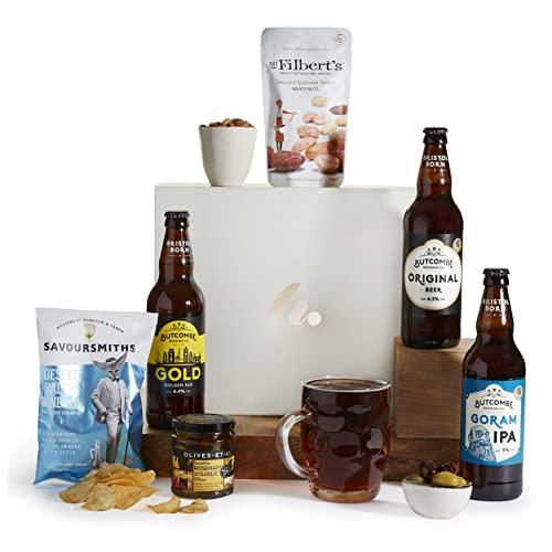 The Real Ale Hamper - IPA, Bitter & Ale, Beer Hampers and Food Gift Baskets For Men