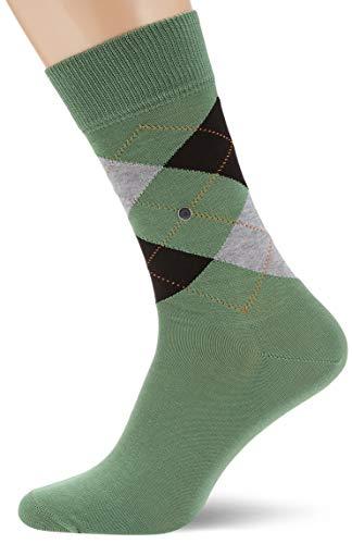 BURLINGTON Herren Socken Manchester - 85% Baumwolle, 1 Paar, Grün (Pepper Green 7618), Größe: 40-46