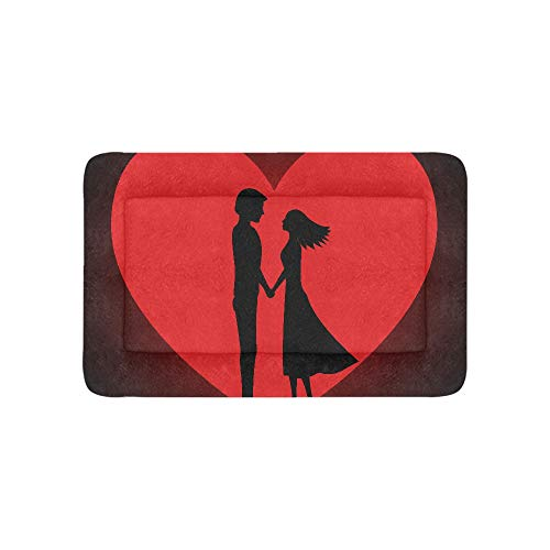 Red Love Best Happiness Extra Large Bedding Soft Pet Dog Beds Couch for Puppy and Cats Furniture Mat Cave Pad Cover Cushion Indoor Gift Supplier 36 X 23 Inch