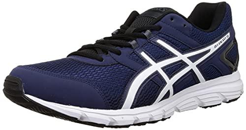 ASICS Mens Synthetic Gel-Galaxy 8B Blue Running Sports Shoes - 8 UK