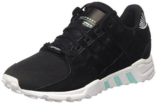 adidas EQT Support RF, Zapatillas de Gimnasia para Mujer, Negro (Core Black/Core Black/FTWR White), 38 EU