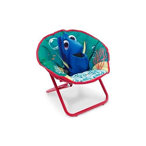 Delta Finding Dory Kinder-Klappsessel, Metall, Bluegreen, 51.44 x 44.45 x 46.04 cm