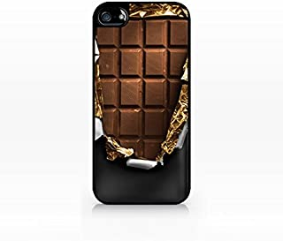 Chocolate bar - Flat Back, iPhone 5 case, iPhone 5s case, Hard Plastic Black case