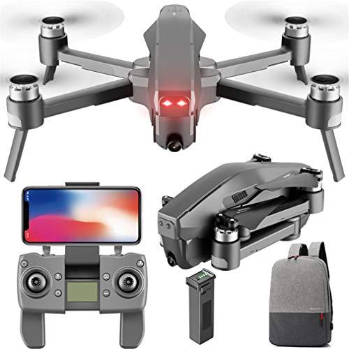 JIE 4DRC GPS Avión de Cuatro Ejes Plegable RC Drone con cámara granangular 1080P Negro 1 Batería