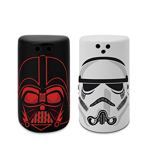Star Wars - Saliera e pepiera Darth Vader e Stormtrooper