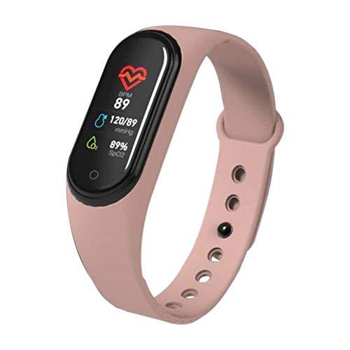 Fitness Armband mit Blutdruckmessung,Smartwatch Fitness Tracker mit Pulsmesser Wasserdicht IP68 Fitness Uhr Blutdruck Messgeräte Pulsuhr Schrittzähler Uhr für Damen Herren Anruf SMS SNS Beachten