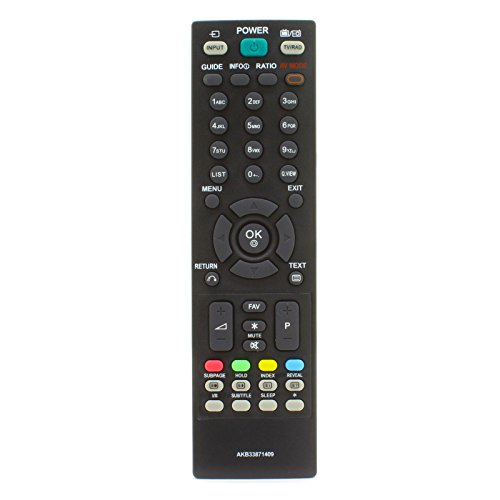 121AV - Reemplazo de mando a distancia AKB33871409 Para LG LCD TV LED