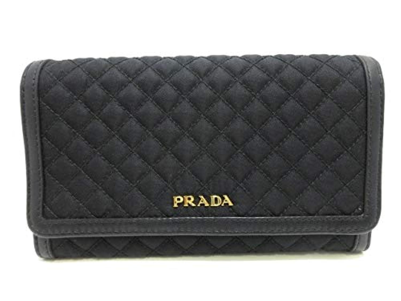 (プラダ)PRADA 財布 黒 1M1437 【中古】