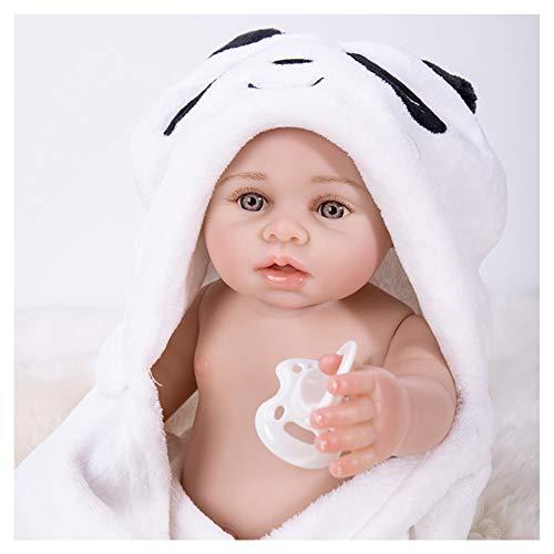 AWDNB Realistas Bebé Reborn Muñecas 43 Cm Muñeca De Silicona Suave De Vinilo Realista Linda Muñeca Recién Nacida con Disfraz
