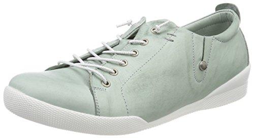 Andrea Conti Damen 0345724 Sneaker, Grün (Mint), 39 EU