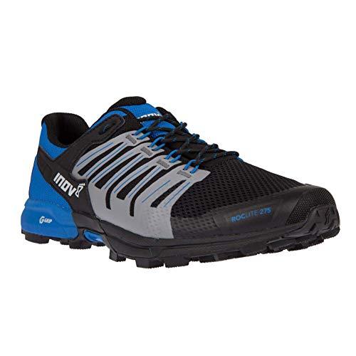 INOV-8 Men Roclite G 275, Color: Black/Blue, Size: 9.5 (000806-BKBL-M-01-9.5)