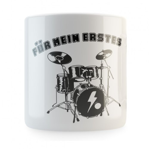 Mikalino Für Mein erstes Schlagzeug Spardose, Druckfarbe:schwarz