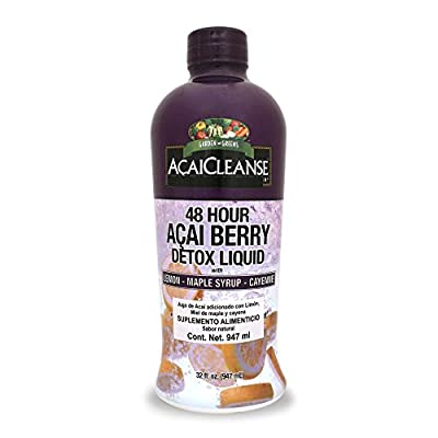 Garden Greens, AcaiCleanse, 48 Hour Acai Berry Detox Liquid, 32 fl oz (947 ml) by Garden Greens