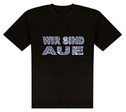 World of Football T-Shirt wir sind AUE - L