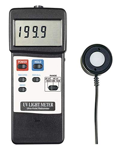 UV-Messgerät Sonnenstrahlung Solarium UVA Sonne Test Strahlung UVB UVC - UV6