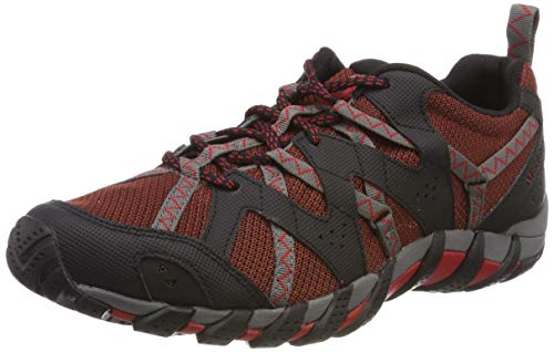 Merrell Waterpro Maipo 2, Zapatillas Impermeables Hombre, Gris (Henna/Charcoal), 42 EU