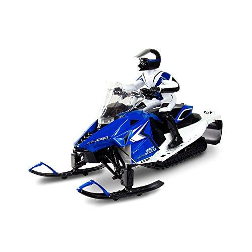 Blue KidzTech 1:6 R/C Yamaha Snowmobile