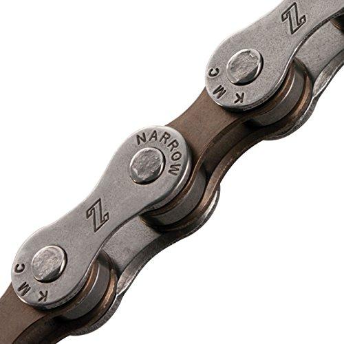 Chain 7SP KMC Z7, Dark Silver/Brown