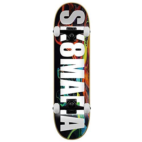 SK8 Mafia Swirl - Skateboard completo Multi 8'