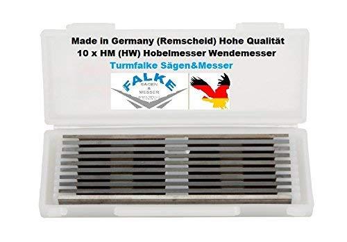 10 x HW lama per pialla elettrica 82 mm – Lama reversibile Bosch-AEG-ELU-Dewalt-Parkside...