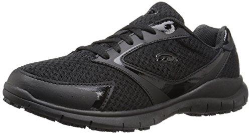 Dr. Scholl's Shoes Women's Inhale Slip-Resistant Sneaker, Black, 10 M US